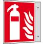 Fahnenschild Feuerlöscher ISO 7010